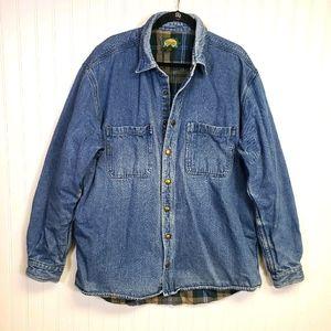 Cabela's Flannel Lined Jean Jacket